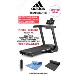 Treadmill Elektrik ADIDAS Home-Use Treadmill T19i - ORIGINAL