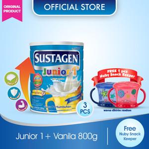 Sustagen Junior Susu Pertumbuhan Vanila 800gx3 Gratis Hadiah