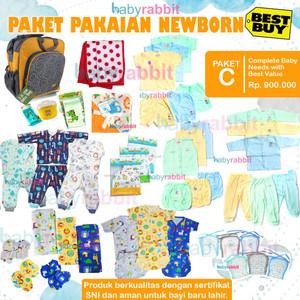 Paket Perlengkapan Bayi NewBorn Complete (C) / Paket New Born Baby