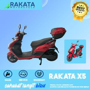 OFF The Road NON-Jabodetabek - MOTOR FULL LISTRIK Rakata X5