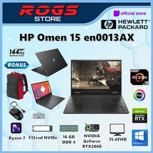 HP Omen 15-en0013AX Ryzen 7 4800H 16GB 512ssd RTX2060 6GB W10+OHS 15
