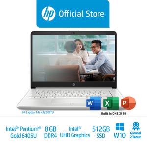 HP 14s-cf2508TU Laptop/Pentium Gold 6405U/8GB/IntelUHD/512GBSSD