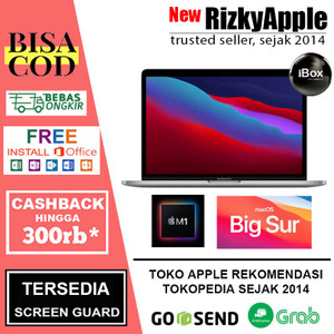 Macbook Pro 2020 M1 Chip 512GB MYD82 Space Gray Silver, 256GB MYD92