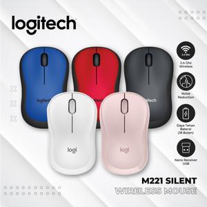 Mouse Optical Logitech M221 / M 221 silent mouse