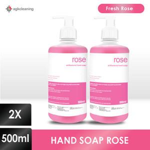 Twinpack Hand Soap - Sabun Cuci Tangan Mawar - Hand Wash Rose 500mlx2
