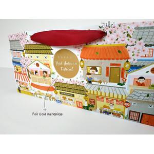 ( PAPERBAG MOONCAKE CHINATOWN ) paperbag mooncake kue bulan