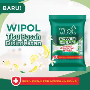 Wipol Wipes Tisu Basah Disinfektan 10 Sheets