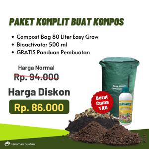 Tas Daur Ulang Sampah Compos Bag & BioActivator Olahan Kompos Organik