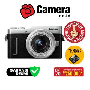 Panasonic Lumix DC-GF10 Kit 12-32mm - Kamera Mirrorless - Silver