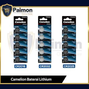 Baterai Batre CR2032 / CR2025 / CR2016 Baterai Koin Camelion
