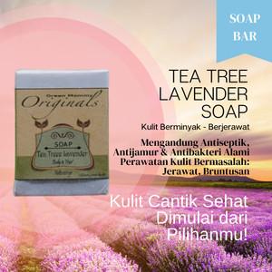 Tea Tree Lavender Soap