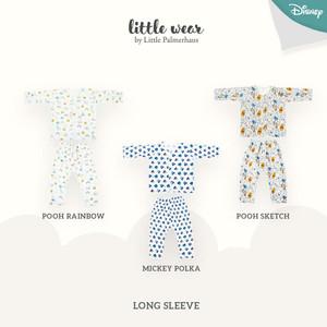 LITTLE PALMERHAUS Little Wear Long Sleeve 0-6 Bulan (DISNEY)