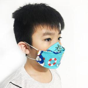 Masker Kain Anak Duckbill Katun 3 Layer Bahan Tebal Karet Kuat Rewash