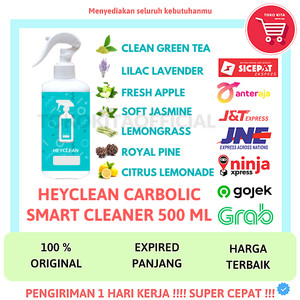 HEYCLEAN SMART CLEANER 500 ML KARBOL ANTIBAKTERI READY TO USE HEYCLEAN