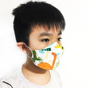 Masker Kain Anak Headloop Hijab 3 Layer Motif Lucu Kartun