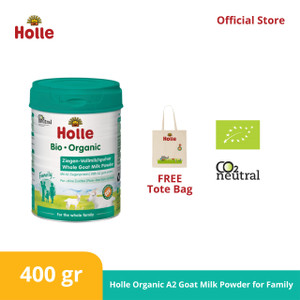 Holle Organic A2 Goat Milk Powder for Family