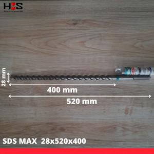 Heller 2125 EnDuro Y-Cutter Dia 28x520x400 - Mata Bor Sds Max