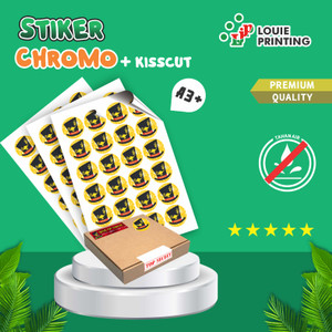 STIKER CHROMO A3+ + Kiss Cut