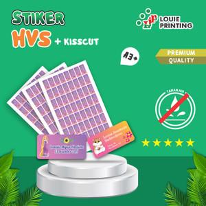Print / Cetak Stiker Label HVS A3+ + Kisscut