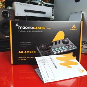 MAONOCASTER MAONO AM200 MIXER CONSOLE PORTABLE PODCAST STUDIO