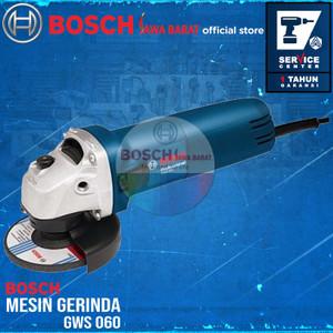 Bosch Grinder GWS 060 670 Watt 4 Inch 100MM Mesin Gerinda Tangan
