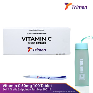 Vitamin C 50 mg Box isi 100 Tablet