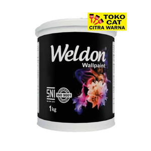 Cat Tembok Interior Weldon 1 kg
