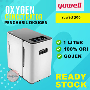 READY STOCK Yuwell 300 1L oxygen concentrator mesin penghasil oksigen