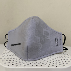 Manome Masker kain 3Ply Premium ukuran Besar - GARUDA