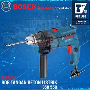 Bosch Bor Tangan Beton Listrik 13 MM GSB 550 550 Watt GSB550