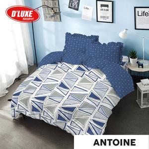 Kintakun DLuxe Bed Cover Set Uk. 180x200 Motif - Antoine