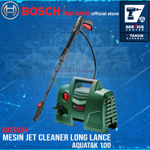 Bosch Jet Cleaner Aquatak 100 Long Lance 1200W Mesin Cuci Mobil AQT100