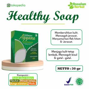 Facial Wash Ayyuna Healthy Soap 30gr - Avocado Daun Bidara Honey Olive