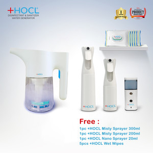 +HOCL Family Disinfectant & Sanitizer Water Generator Package 3