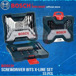 Bosch X-Line Drill Bits Set 33 PCS Mata Obeng dan Mata Bor 33PCS