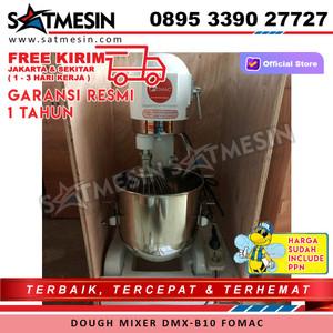 Mesin Pengaduk Adonan Kue Dough Mixer Fomac DMX-B10 Kapasitas 10 Liter