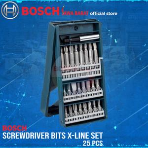 Bosch Screwdriver Bits X-line Set 25 PCS Mata Obeng Set Mini 25PCS