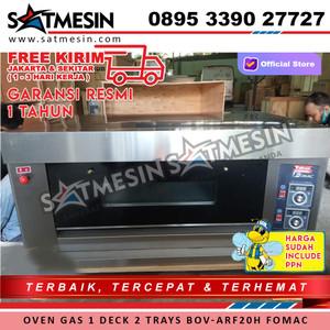 Oven Gas 1 Deck 2 trays ARF-20H BOV-ARF20H FOMAC
