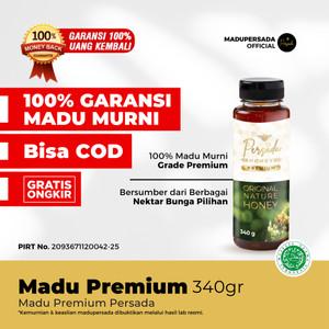 Madu Persada Premium 340gr  Madu Murni