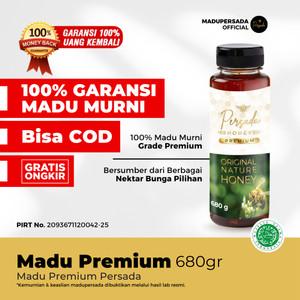 Madu Persada Premium 680gr  Madu Murni Asli