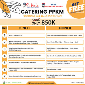 PROMO PAKET CATERING PPKM