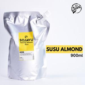 Sojavu Roasted Almond Milk / Susu Almond - Original (Pouch)