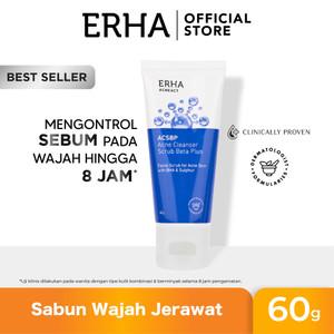 ERHA Acneact ACSBP BHA & Sulfur 60g - Sabun Wajah Jerawat