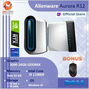 PC GAMING ALIENWARE AURORA R12 RTX3090 i9-11900KF 128GB 2TB SSD+2TB