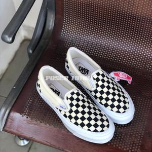 Vans Slip On OG CheckerBoard Black White SS 2020