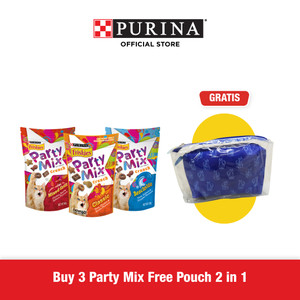 FRISKIES PARTY MIX (Mix Variant 60gr 3pcs) Free Pouch 2 in 1