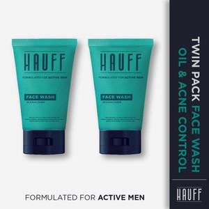 TWIN PACK - HAUFF Face Wash Oil & Acne Control
