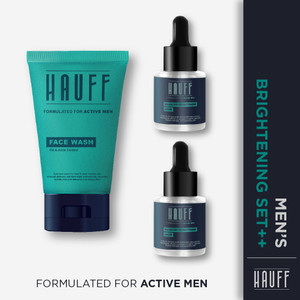 HAUFF Men's Brightening Set Plus+