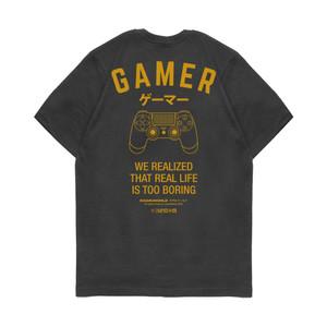 Kaos Pria Kizaru T-Shirt Gamer Series: GAMER