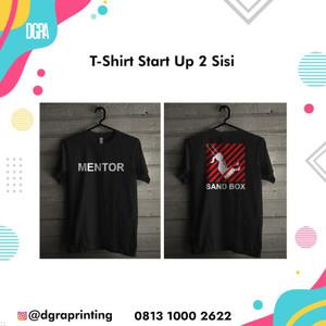 Kaos Startup 2 sisi M L XL